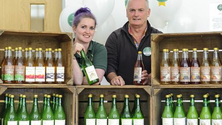 Morrisons are looking for local foodmakers. Jess and David Fisher, Watergull Orchards, Wisbech PHOTO