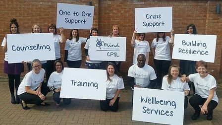 Cambridgeshire and Peterborough and Fenland Mind merged this week to support people experiencing men