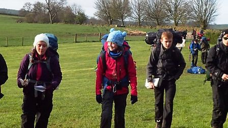 King's Ely students reached new heights during an action-packed Easter break.Several expeditions we
