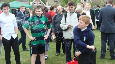 Osfest, an annual fundraising event at King's Ely, has raised more than £1,2000 for Tom's Trust - a