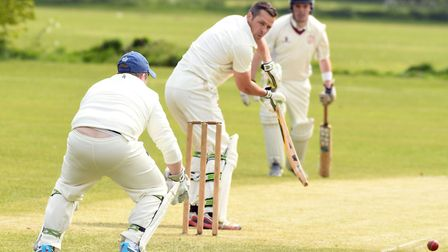 Robin Rutter top-scored for Ely with an impressive knock of 71. PHOTO: Ian Carter