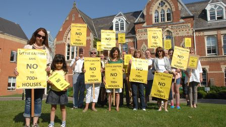 Little Easton residents have previously fought off a large housing development proposal. Picture: AR