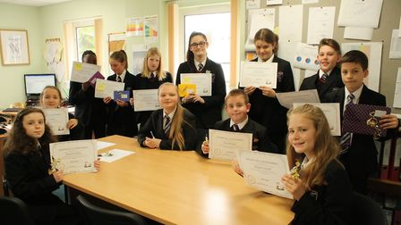 Pupils at Witchford Village College took part in its short story competition recently. PHOTO: Witchf