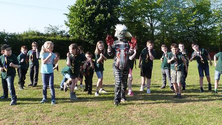 Scouts from Sutton are to take on the Sutton Feast Beast on June 11.