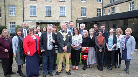 The launch of the Ely Local Hero Awards at The Poets House on nominations are now closed and the jud