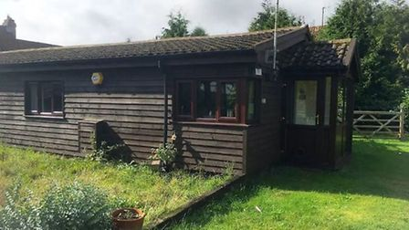 Sara Bear's barn conversion where it is claimed more than 50 men and women from RAF Lakenheath atten