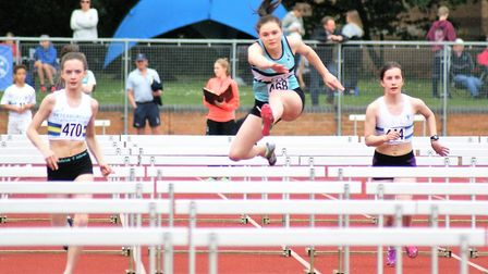 King's Ely athletes impressed at the Cambridgeshire Athletics Clubs County Championships.