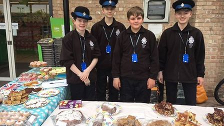 East Cambs Police Cadets' bake sale raises almost £100 for family of PC Keith Palmer