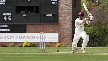 Clinton Bricker hit 92 as March Town sealed their first Whitings League Division One victory over Wa