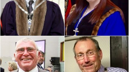 The four Fenland towns have either just appointed their mayors for the coming year or will do so thi