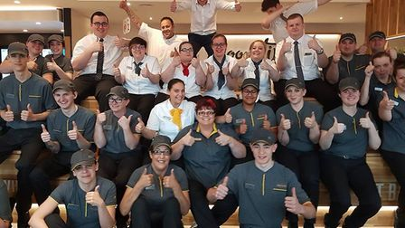 McDonald's opened at the Ely Leisure Centre today (May 17). PHOTO: McDonalds