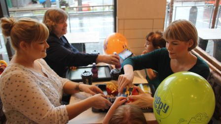 McDonald's opened at the Ely Leisure Centre today (May 17). PHOTO: Mike Rouse
