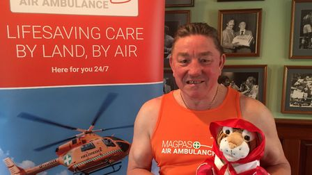 Dave 'Boy' Green is supporting Magpas Air Ambulance's annual Orange Day this May.