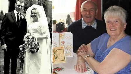 Mally and Wendy Pope from Upwell have celebrated their 50th wedding anniversary.