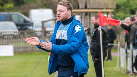 Ashley Taylor is to remain as Chatteris Town manager for the 2017/18 season. PHOTO: Steve Snell