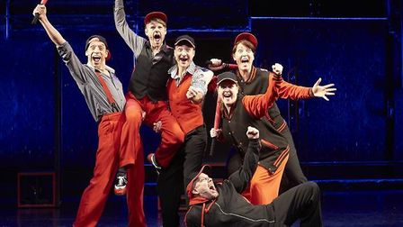 'Showstopper! The Improvised Musical', is coming to the Cambridge Arts Theatre from Wednesday May 31
