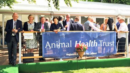 Animal Health Trust charity race day at Newmarket PHOTO: AHT