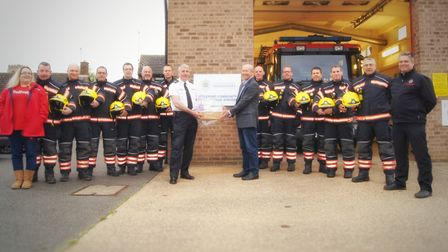 Littleport on-call fire station beats others in region to claim Best Fundraiser award