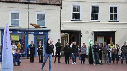 Launch of Eel Festival in Ely - four days of fun filled delight in the city of Ely PHOTO: Mike Rouse