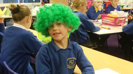Crazy hair day at Anthony Curton school for charity PHOTO: Anthony Curton School