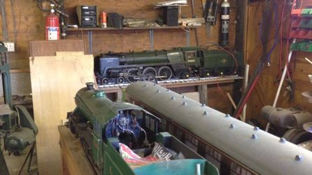 appealing for information after unique locomotive parts and tools were stolen from a property in Hig