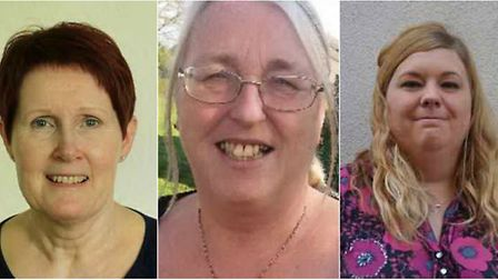 Wisbech East Division: Fay Allen (Independent), Sue Marshall (Labour), Susan Carson (UKIP), Sam Hoy