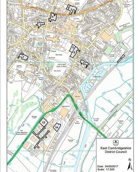 East Cambs District Council's Commercial Services Committee will be discussing new car parking provi
