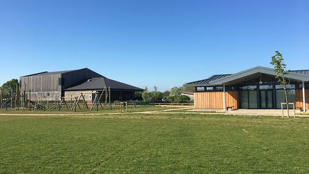 The new facilities at Flitch Green