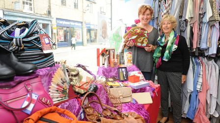 Inside the Ely Cancer Research Charity Shop in Ely at last year's indulgence day.