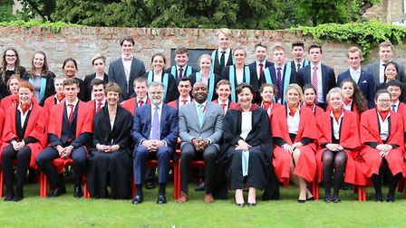 King's Ely staff and students at its annual Prizegiving. PHOTO: King's Ely