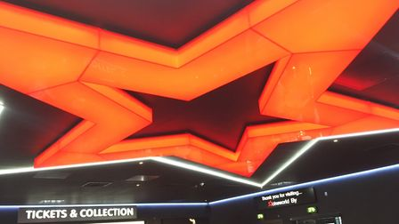 The interior of Cineworld, Ely, which opens to the public on May 12. PHOTO: Seb Pearce