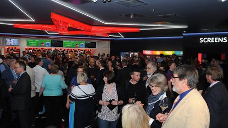 Almost 200 people attended the official opening of Cineworld Ely on May 10. PHOTO: Cineworld