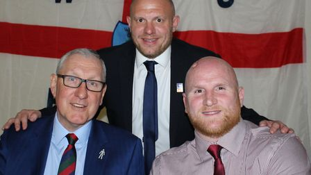 Former England captain Terry Butcher and former Wales striker John Hartson were the guest speakers a