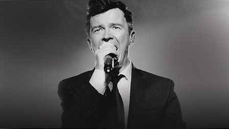 Rick Astley will be performing his hits at Thetford Forest on July 1 - and we have four pairs of tic