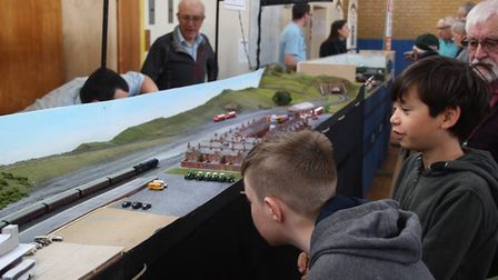 Ely Model Railway Club exhibition day PHOTO: Mike Rouse
