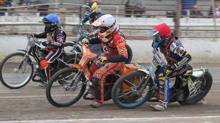 Jon Armstrong starred as Mildenhall Fen Tigers beat Young Lions U21 48-41 yesterday. Photo: Derek Le