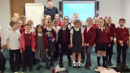 Picture book maker Jarvis' latest release 'Lazy Dave' has been voted as Cambridgeshire pupils' favou