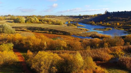King's Dyke nature reserve located just five miles from Peterborough.