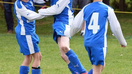 Feeder players in action March Rangers' six-a-side tournament. PHOTO: Ian Carter