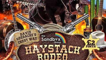 Haystack Rodeo at the Dog In A Doublet to raise money for local charities