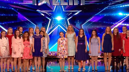 Stretham couple lead Angelicus Celtis singing group to live semi-finals of Britain's Got Talent