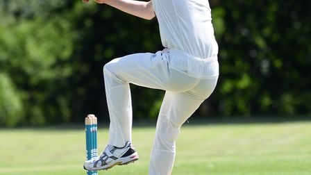 Samuel Clarke took three wickets and top-scored as March Town were beaten last Saturday. Picture: IA