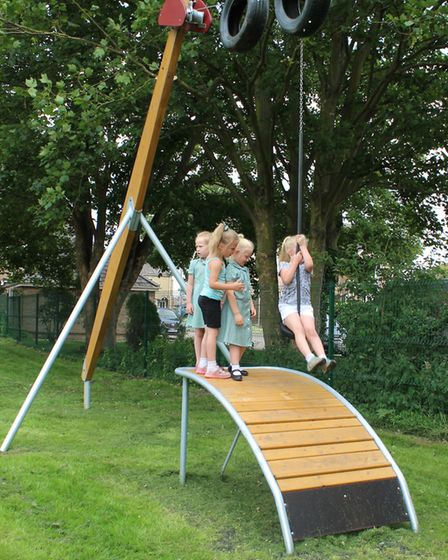 Benwick play park is officially open.