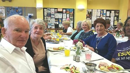 March carers lunch