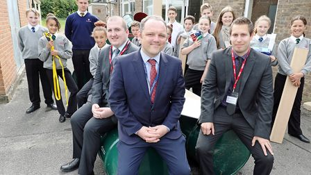 Lovewell Blake's £500 donation to Ely College will help students build raft for Aquafest: James Rix