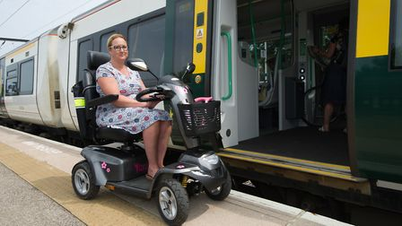 Maria Stableford from Littleport has launched a campaign to raise awareness of what facilities are a