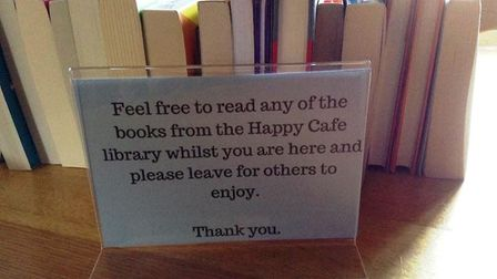 A new Happy Cafe is set to open in Julia's Tearooms in Ely next month and will have literature for p