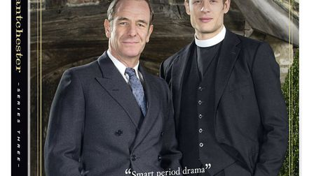 Robson Green and James Norton star in Grantchester - now we have DVD sets to give away in an easy to