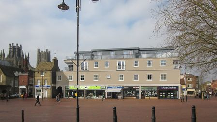 What the 12 apartments at Market Square in Ely - which have been criticised by community group the E