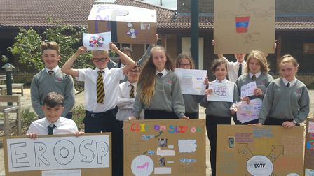 Ely College students celebrate final PLEDGES and Futures Day of the year